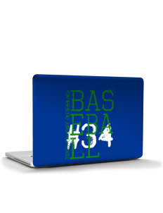"Fontainebleau Junior High School Hurricanes Apple MacBook Pro 15.4"" Skin"