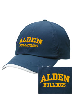 Alden Middle School Bulldogs Embroidered Nike Dri-FIT Swoosh Perforated Cap