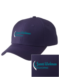 James Workman Middle School Bighorns  Embroidered New Era Adjustable Structured Cap