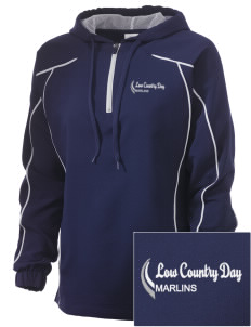 Low Country Day School Marlins Embroidered Russell Women's Prestige 1/4 Zip Jacket