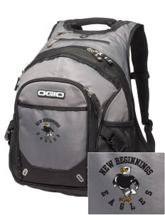 New Beginnings School Eagles Embroidered OGIO Fugitive Backpack