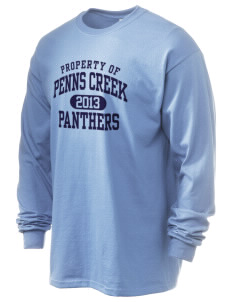 Penns Creek Elementary School Panthers 6.1 oz Ultra Cotton Long-Sleeve T-Shirt