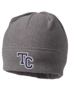 Trinity Christian School Warriors Embroidered Fleece Beanie