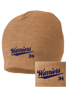 Trinity Christian School Warriors Embroidered Beanie