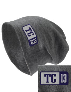 Trinity Christian School Warriors Embroidered Slouch Beanie