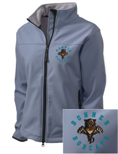 Bonner Elementary School Bobcats Embroidered Women's Glacier Soft Shell Jacket
