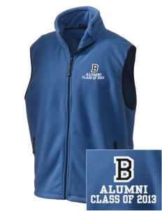 Bonner Elementary School Bobcats Embroidered Unisex Wintercept Fleece Vest