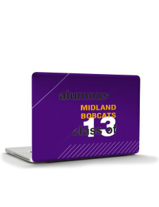 "Midland Community Middle School Bobcats Apple MacBook Pro 15"" & PowerBook 15"" Skin"