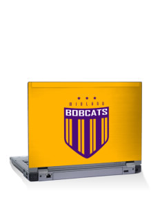 "Midland Community Middle School Bobcats 14"" Laptop Skin"