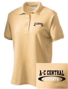 A-C Central High School Knights Women's Embroidered Silk Touch Polo