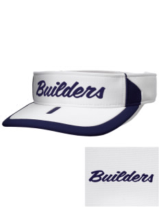 Cornerstone Christian School Builders Embroidered M2 Sideline Adjustable Visor