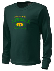 Glendale Adventist Academy Cougars  Kid's Long Sleeve T-Shirt