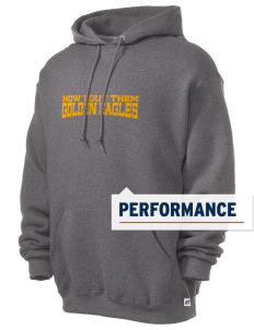 Desert Hot Springs High School Golden Eagles Russell Men's Dri-Power Hooded Sweatshirt