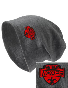 Moxee Elementary School Panthers Embroidered Slouch Beanie