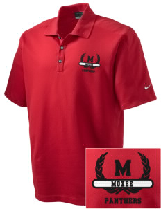 Moxee Elementary School Panthers Embroidered Nike Men's Dri-FIT Pique II Golf Polo