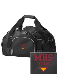 Millersburg Area High School Indians  Embroidered OGIO Big Dome Duffel Bag