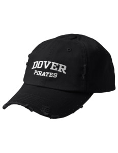 Dover Middle School Pirates Embroidered Distressed Cap