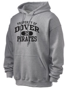 Dover Middle School Pirates Ultra Blend 50/50 Hooded Sweatshirt