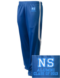 North Star Elementary School Huskies Embroidered Holloway Men's Tricotex Warm Up Pants