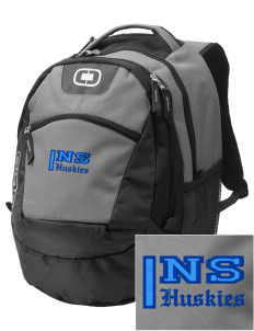 North Star Elementary School Huskies Embroidered OGIO Rogue Backpack