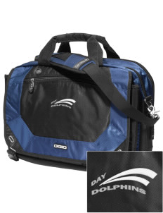 Day Middle School Dolphins Embroidered OGIO Corporate City Corp Messenger Bag