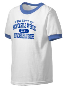 Newcastle Avenue Elementary School Newcastle Navigators Kid's Ringer T-Shirt