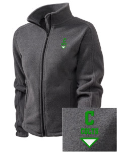 Coombs Middle School Colts Embroidered Women's Fleece Full-Zip Jacket