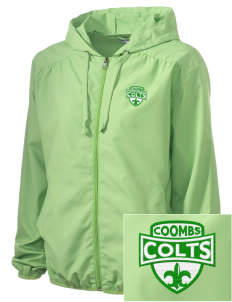Coombs Middle School Colts Embroidered Women's Hooded Essential Jacket