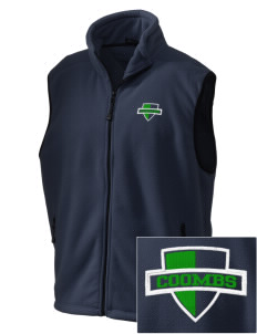 Coombs Middle School Colts Embroidered Unisex Wintercept Fleece Vest