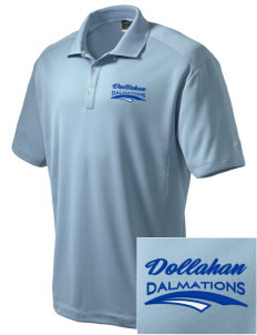 Dollahan Elementary School Dalmations Embroidered Nike Men's Dri-Fit Classic Polo