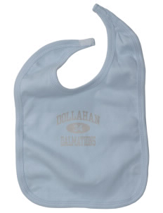 Dollahan Elementary School Dalmations Baby Interlock Bib