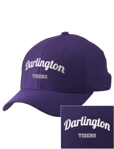 Darlington School Tigers Embroidered Pro Model Fitted Cap