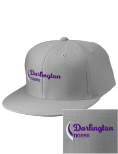 Darlington School Tigers Embroidered Diamond Series Fitted Cap