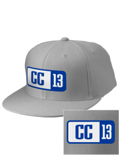 Calvary Christian School Eagles Embroidered Diamond Series Fitted Cap