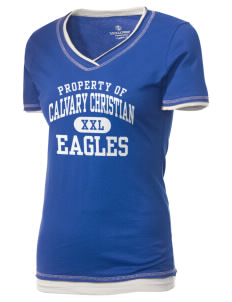 Calvary Christian School Eagles Holloway Women's Dream T-Shirt