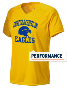 Fairfield Christian School Eagles Holloway Women's Zoom Performance T-Shirt