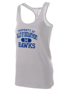 Valley Of Enchantment Elementary School Hawks Women's Racerback Tank