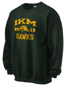 IKM Middle School Hawks Ultra Blend 50/50 Crewneck Sweatshirt