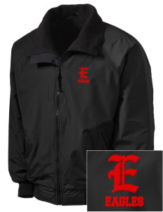 Christian Faith School Eagles Embroidered Tall Men's Challenger Jacket