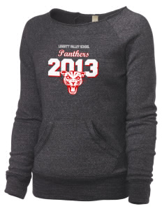 Leggett Valley School Panthers Alternative Women's Maniac Sweatshirt