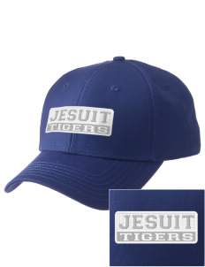 Jesuit High School Tigers  Embroidered New Era Adjustable Structured Cap
