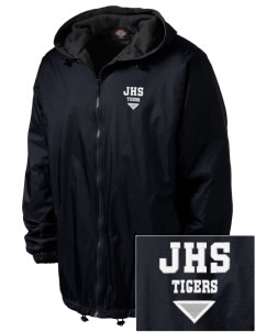 Jesuit High School Tigers Embroidered Dickies Men's Fleece-Lined Hooded Jacket