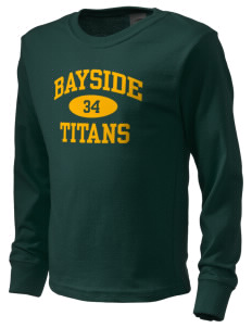 Bayside Community Day School Trojans  Kid's Long Sleeve T-Shirt
