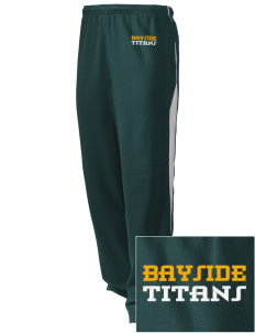 Bayside Community Day School Trojans Embroidered Holloway Men's Pivot Warm Up Pants