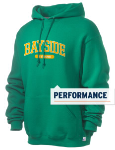 Bayside Community Day School Trojans Russell Men's Dri-Power Hooded Sweatshirt