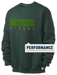 Bayside Community Day School Trojans  Russell Men's Dri-Power Crewneck Sweatshirt