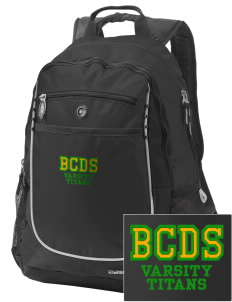 Bayside Community Day School Trojans Embroidered OGIO Carbon Backpack