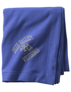 Deer Valley High School Wolverines  Sweatshirt Blanket