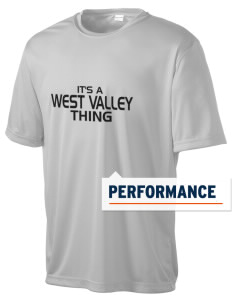 West Valley Middle School Wolves Men's Competitor Performance T-Shirt