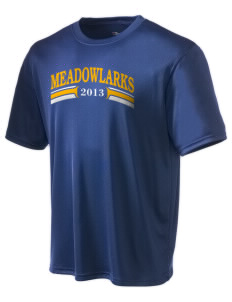 Meadowlark Elementary School Meadowlarks Champion Men's Wicking T-Shirt